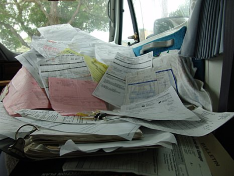 The invoices pile up