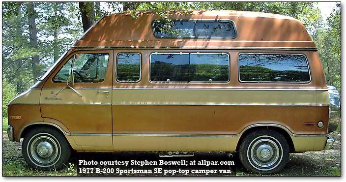 Old Dodge Campers