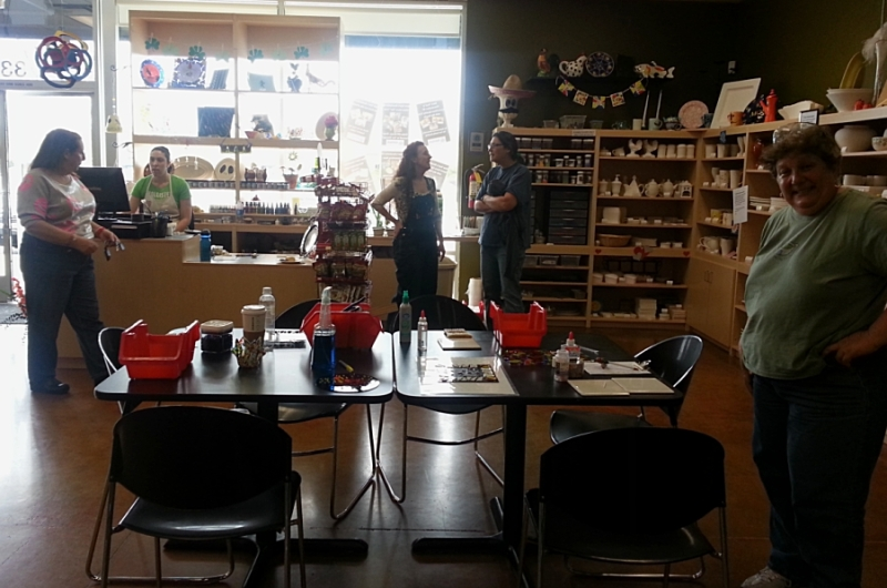The craft studio in Placerville, CA