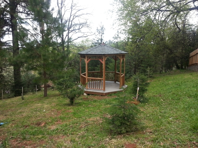 The Gazebo in the woods
