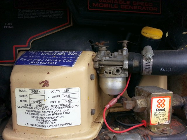Generac generator for my 1996 Leisure Travel RV