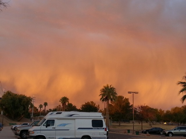 The stunning AZ sky