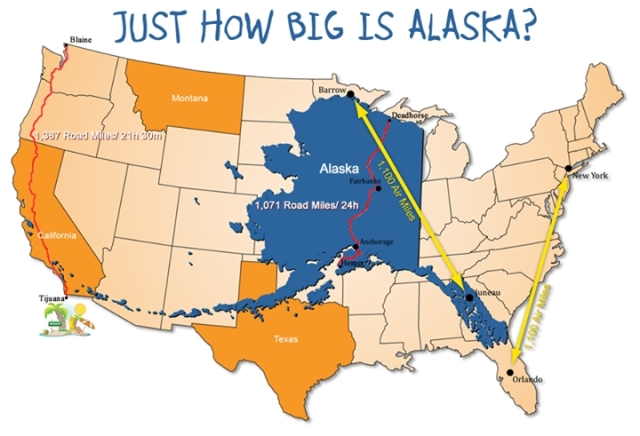 Just How Big Is Alaska