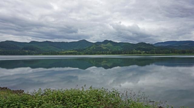 A beautiful lake in Oregon