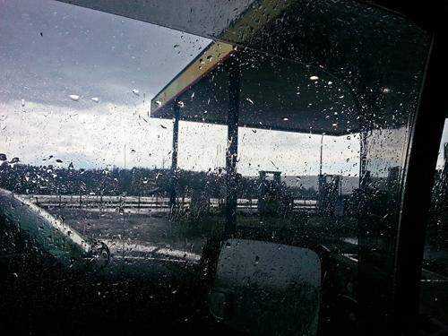 Rain in BC