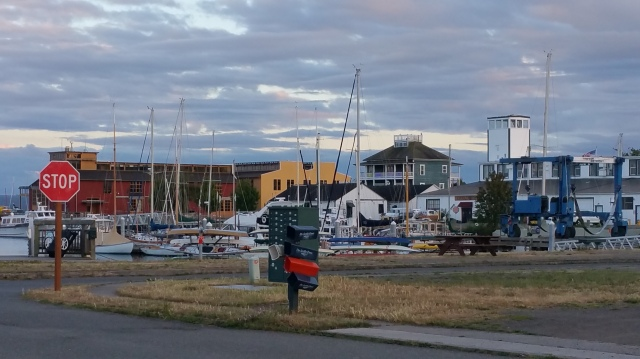 Heck if you don't like boats you won't like Port townsend. LOL