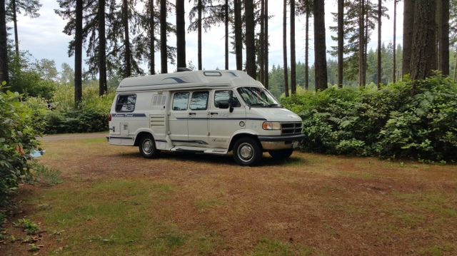 My 1996 Class B Freedom Wide Leisure Travel can go anywhere.